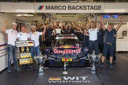 Marco Wittmann, BMW Team RMG, BMW M4 DTM; Timo Glock, BMW Team RMG, BMW M4 DTM; Stefan Reinhold, BMW