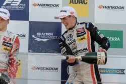 Podium, Rookie, Joel Eriksson, Motopark Dallara F312 - Volkswagen