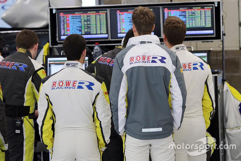 Rowe Racing área de equipo