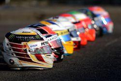 Cascos Bell, Lewis Hamilton, Mercedes AMG F1 Team