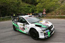 Paolo Porro e Paolo Cargnelutti, Ford Focus WRC, Bluthunder Racing Italy
