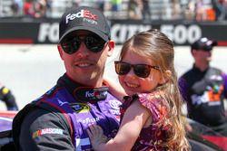 Denny Hamlin mit Tochter Taylor