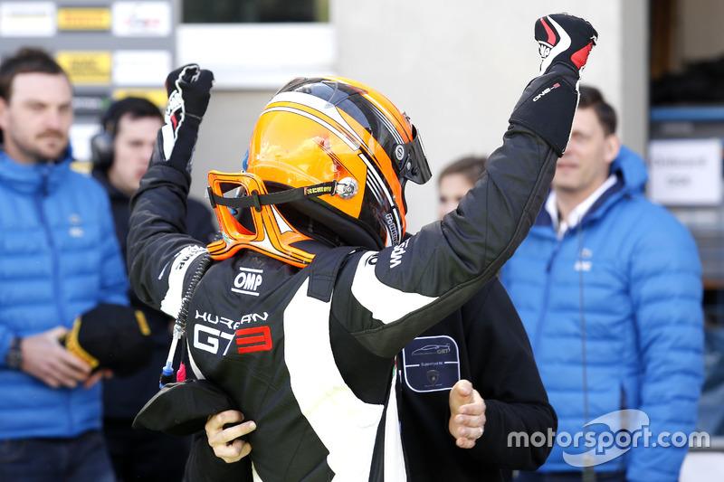 Sieger, #63 GRT Grasser-Racing-Team, Lamborghini Huracán GT3: Rolf Ineichen