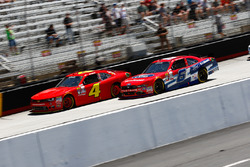 Ross Chastain, Chevrolet, Darrell Wallace Jr., Roush Fenway Racing Ford