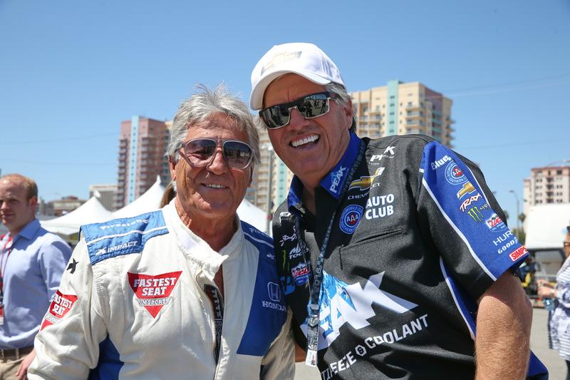 Mario Andretti, John Force