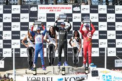 Podyum: Scott Dixon, Chip Ganassi Racing Chevrolet, Simon Pagenaud, Penske Takımı Chevrolet, Helio C
