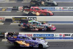 Alexis Dejoria, Chad Head, Courtney Force, Jack Beckman