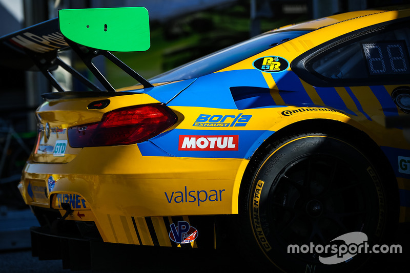 #96 Turner Motorsport BMW M6 GT3: Bret Curtis, Jens Klingmann, Ashley Freiberg, detail