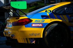 #96 Turner Motorsport, BMW M6 GT3: Bret Curtis, Jens Klingmann, Ashley Freiberg, detail