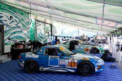 #27 Freedom Autosport Mazda MX-5: Danny Bender, Britt Casey Jr., #26 Freedom Autosport Mazda MX-5: A
