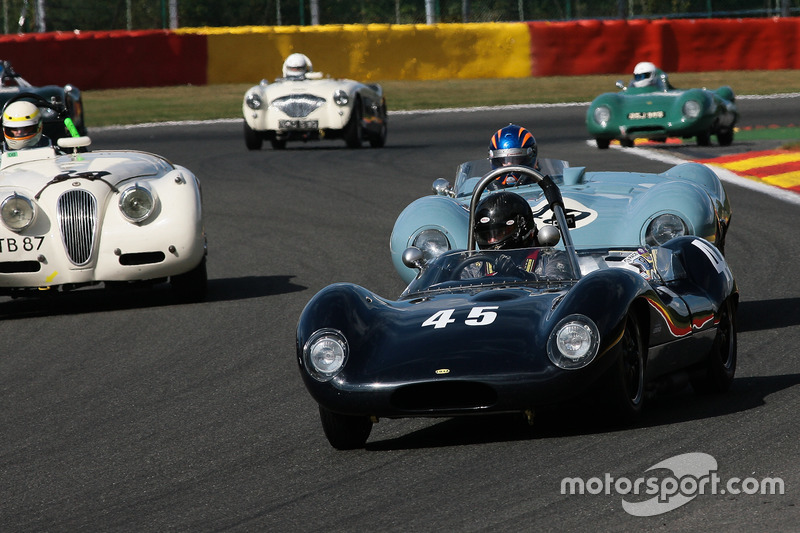 #45 Lola Mk1 (1960): Marc Valvekens, Paul Grant