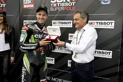 Ganador de la pole Jonathan Rea, Kawasaki Racing