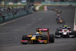 Antonio Giovinazzi, PREMA Racing y Sergey Sirotkin, ART Grand Prix