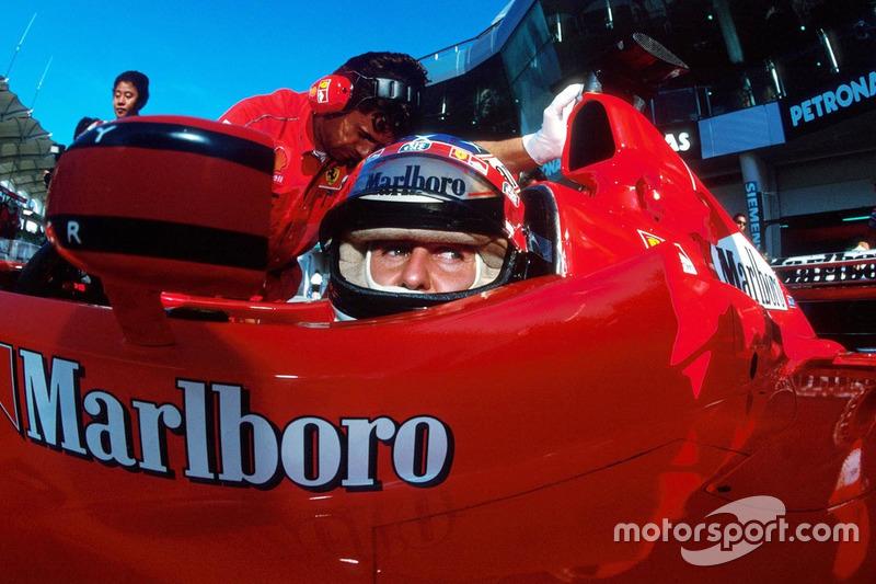 8. Malaysia 1999, Michael Schumacher vor Eddie Irvine - 0,947 Sekunden