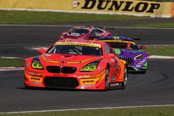 #55 Autobacs Racing, Team Aguri BMW M6 GT3: Shinichi Takagi, Takashi Kobayashi