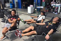 Entspannung: Goodsmile Racing & Team Ukyo