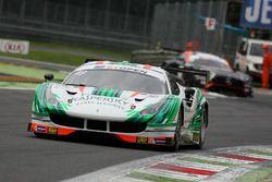 #49 AF Corse/Kaspersky Motorsport Ferrari 488 GT3: Alex Moiseev, Marco Cioci