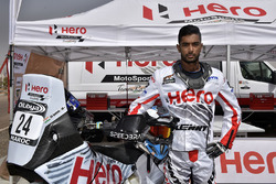 CS Santosh, Hero MotoSports Team Rally