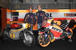 Dani Pedrosa, Repsol Honda Team, Marc Marquez, Repsol Honda Team avec la Honda RC181 et la Honda RC213V