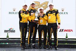 PC podium: winnaars Chris Miller, Mikhail Goikhberg, Stephen Simpson, Kenton Koch