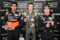 Winner Lando Norris, second place Jehan Daruvala, third place Pedro Piquet