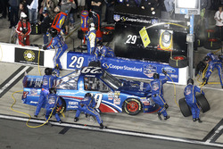 Arrêt aux stands pour Tyler Reddick, Brad Keselowski Racing Ford