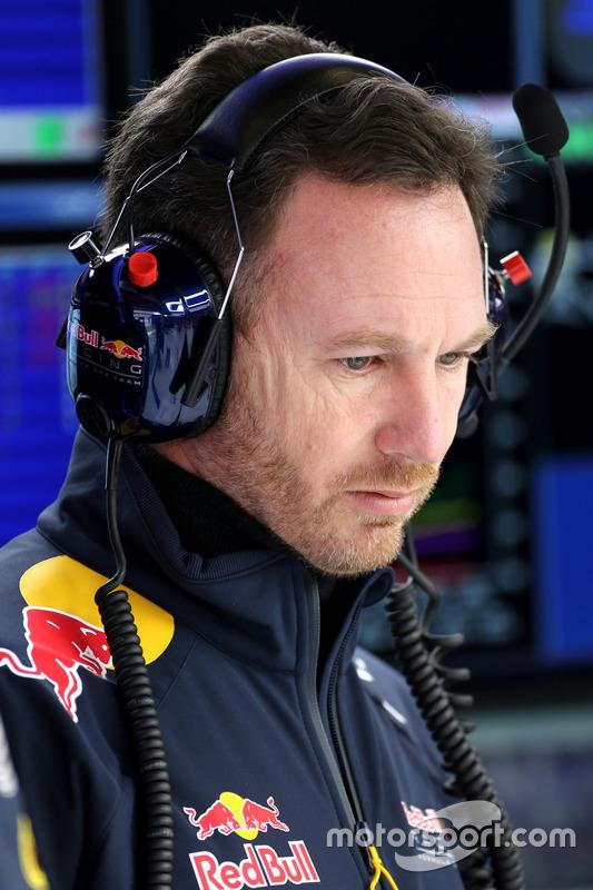 Christian Horner, Red Bull Racing Sportdirektor