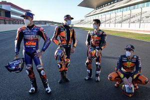 Miguel Oliveira, Red Bull KTM Tech 3, Brad Binder, Red Bull KTM Factory Racing, Dani Pedrosa, Red Bull KTM Factory Racing, Pol Espargaro, Red Bull KTM Factory Racing
