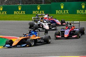 Alexander Peroni, Campos Racing, David Beckmann, Trident and Sebastian Fernandez, ART Grand Prix and Lirim Zendeli, Trident