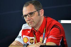 Stefano Domenicali, Ferrari General Director in the Press Conference