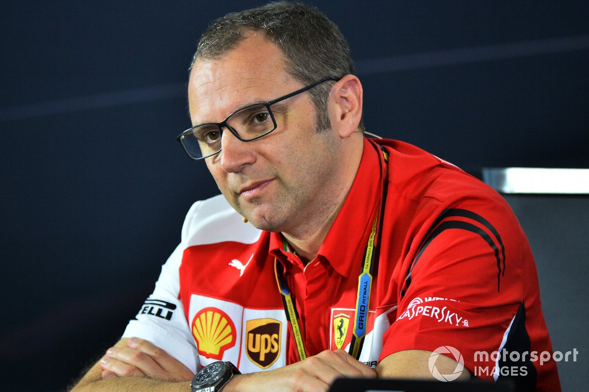 Stefano Domenicali, Ferrari General Director in the Press Conference