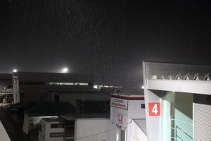 Fuji Speedway paddock
