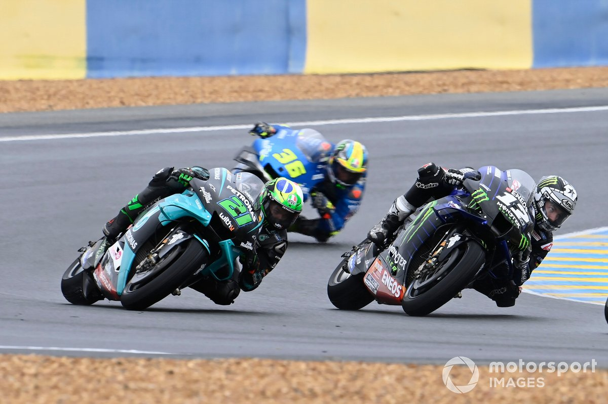 Franco Morbidelli, Petronas Yamaha SRT, Maverick Vinales, Yamaha Factory Racing