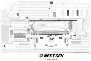 Geplanter Umbau des Auto Club Speedway in Fontana