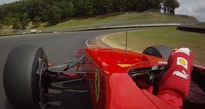 Джанкарло Физикелла за рулем Ferrari в Муджелло