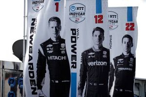 Josef Newgarden, Team Penske Chevrolet, Will Power, Team Penske Chevrolet, Simon Pagenaud, Team Penske Chevrolet