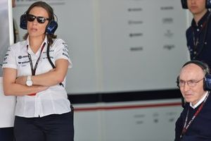 Claire Williams, Williams Deputy Team Principal and Frank Williams, Williams Team Owner