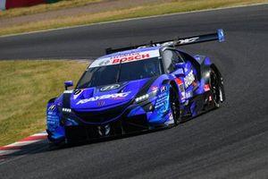 #100 Team Kunimitsu Honda NSX Concept GT: Naoki Yamamoto, Tadasuke Makino