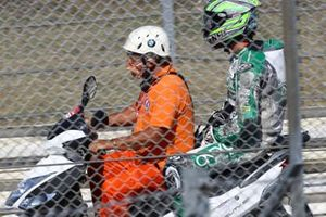 Remy Gardner, SAG Racing Team after crash