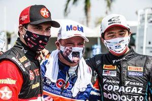 Nelsinho Piquet, Rubens Barrichello e Rafael Suzuki