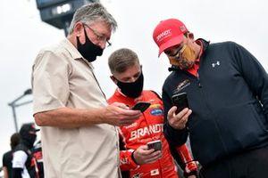 Justin Allgaier, JR Motorsports, Chevrolet Camaro BRANDT, crew chief Jason Burnett