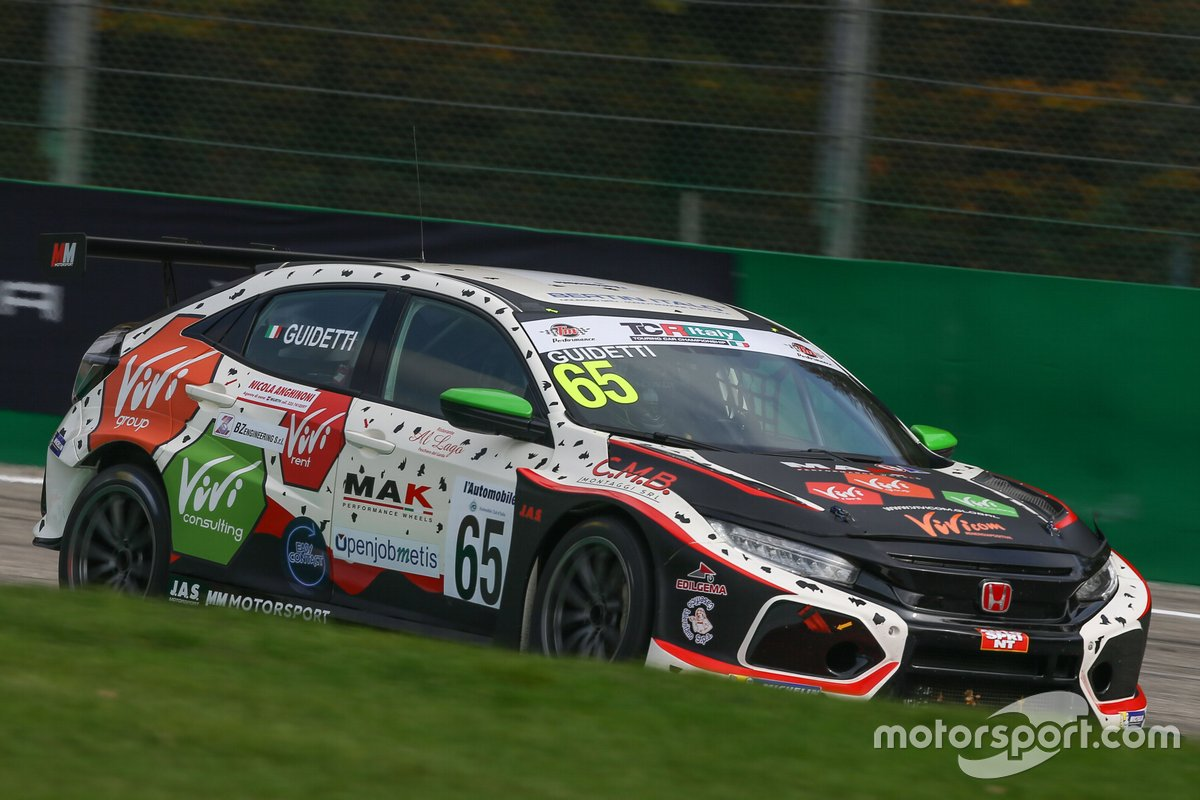 Jacopo Guidetti, MM Motorsport, Honda Civic Type R TCR