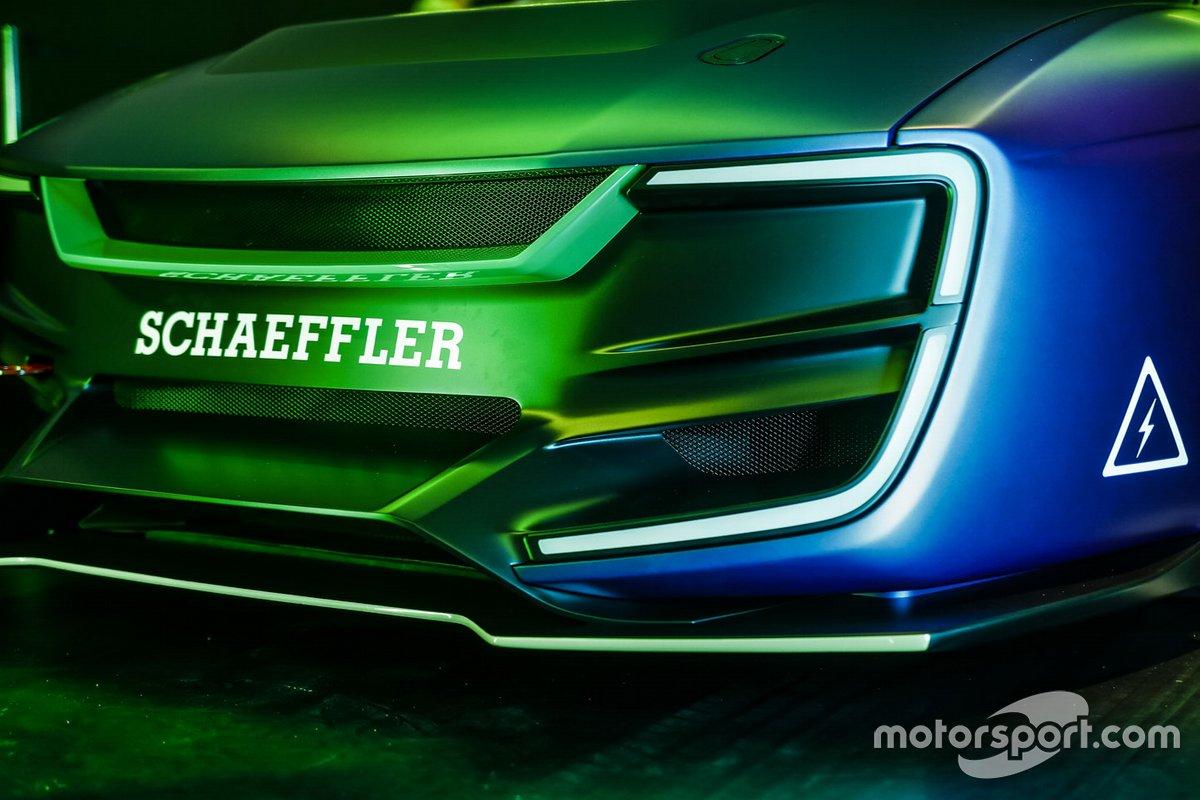 DTM electric car detail