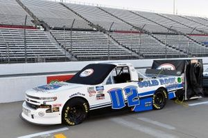 #02: Tate Fogleman, Young's Motorsports, Chevrolet Silverado Solid Rock Carriers