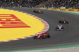Charles Leclerc, Ferrari SF1000, Sergio Pérez, Racing Point RP20, Alex Albon, Red Bull Racing RB16, Carlos Sainz Jr., McLaren MCL35, Lando Norris, McLaren MCL35