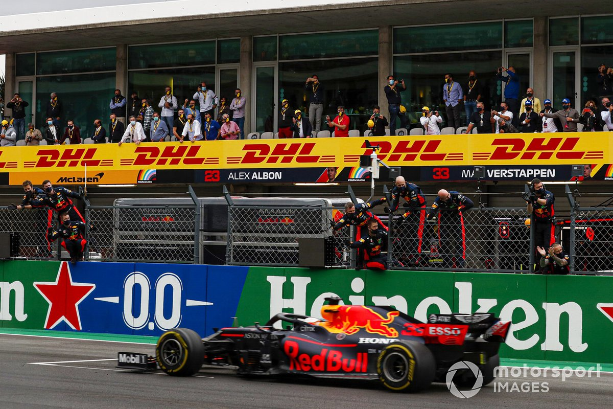 Tercer lugar Max Verstappen, Red Bull Racing RB16