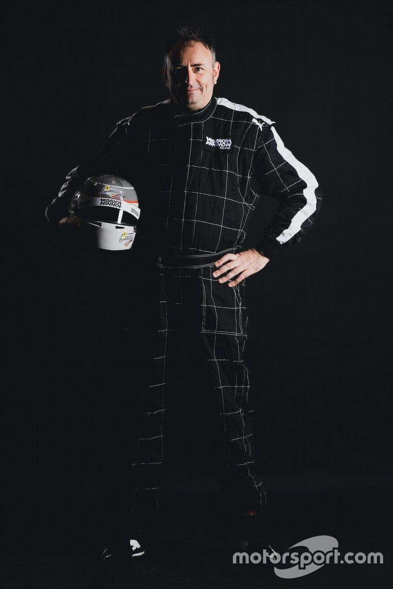Roberto Chinchero, giornalista di Motorsport.com Italia e Sky SportF1