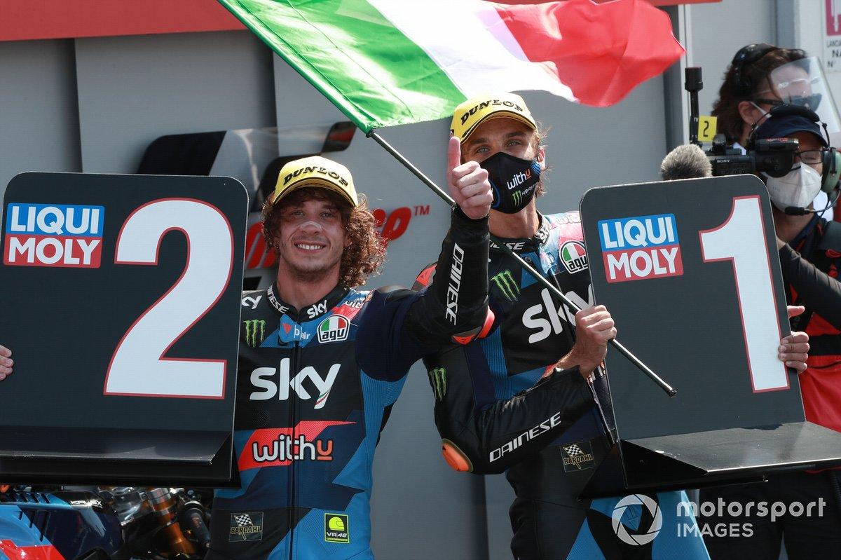 Marco Bezzecchi, Sky Racing Team VR46 , Luca Marini, Sky Racing Team VR46