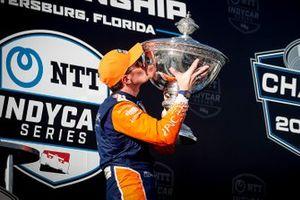 2020 Champion Scott Dixon, Chip Ganassi Racing Honda