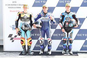 Gabriel Rodrigo, RBA Racing Team, Jorge Martin, Del Conca Gresini Racing Moto3, Aron Canet, Estrella Galicia 0,0